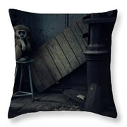 Lost Animals -  Series Nr.4 Throw Pillow