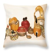 Lost Art Of Basket Making Throw Pillow
