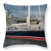Lost At The Battle Of Midway June 1942 Throw Pillow
