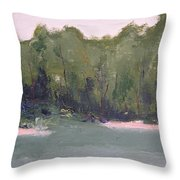 Lost Beach Throw Pillow