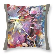 Lost Butterflys Throw Pillow