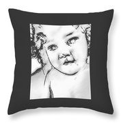 Lost Child Throw Pillow