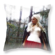 Lost Feelings Throw Pillow