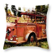 Lost Hero Throw Pillow