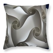 Lost In A Maze Throw Pillow
