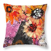 Lost In A Moment Throw Pillow