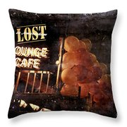 Lost In Amsterdam Throw Pillow