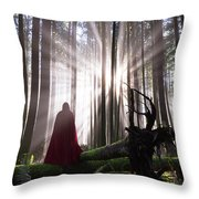 Lost In Beauty Throw Pillow