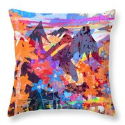 Lost In Colorado Throw Pillow