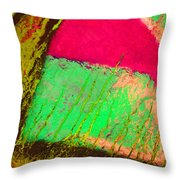 Lost In Colour Throw Pillow
