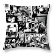 Lost In Dimension V Throw Pillow