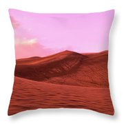 Lost In Dunes Throw Pillow