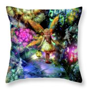 Lost In Faeland Throw Pillow