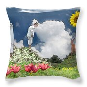 Lost In Found Throw Pillow