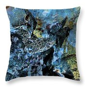 Lost In Inner Space Throw Pillow