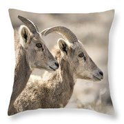 Lost In Meditation Throw Pillow