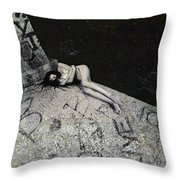 Lost In New York Throw Pillow