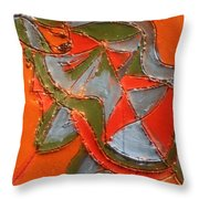 Lost In Puzzle - Tile Throw Pillow