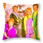 Lost In Space Team - Da Throw Pillow