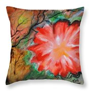 Lost In The Jungle Throw Pillow
