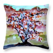 Lost In The Middle Throw Pillow