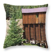 Lost In The Past Throw Pillow