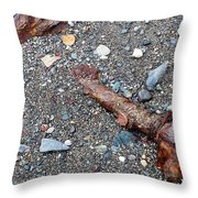 Lost In The Sand Throw Pillow