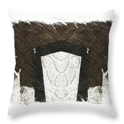 Lost In The Stars  Throw Pillow