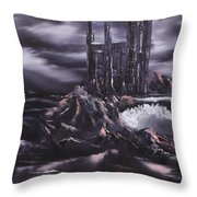 Lost In Time. Throw Pillow by Cynthia Adams