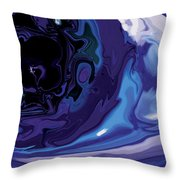 Lost-in-to-the-eye Throw Pillow