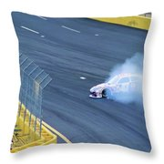 Lost It On The Turn Throw Pillow