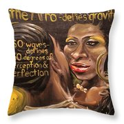 Lost Knowledge Of The Royal Crown Of Judah Throw Pillow