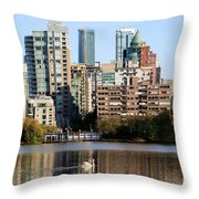 Lost Lagoon Vancouver  Throw Pillow