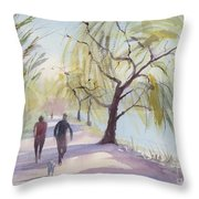 Lost Lagoon Throw Pillow