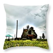 Lost Mill Throw Pillow