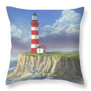Lost Point Light Throw Pillow