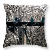 Lost Power Throw Pillow