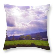 Lost River Heavens Throw Pillow