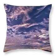 Lost River Sky Throw Pillow