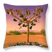 Lost Soles 3 Throw Pillow