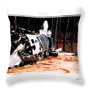 Lost Super Sabre Throw Pillow