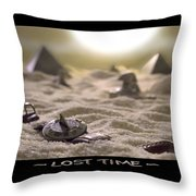 Lost Time Throw Pillow by Mike McGlothlen