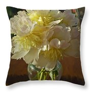 Lost Treasures Throw Pillow by Gwyn Newcombe