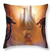 Lost Valley Throw Pillow