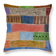 Several Acres Of Land Throw Pillow