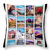 Loteria El Paso Throw Pillow