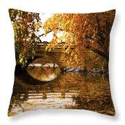 Lothlorien Or Wisconsin Throw Pillow