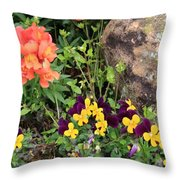 Lots Of Color Throw Pillow