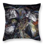 Lots Of Heart Throw Pillow