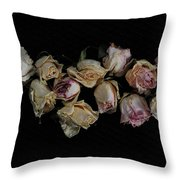 Lots Of Lost Glory Throw Pillow